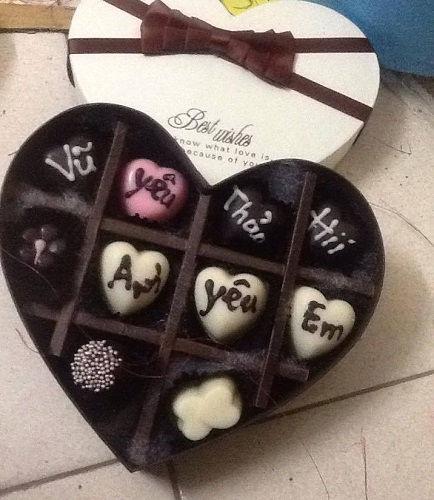 cách làm socola trái tim 4 cách làm socola trái tim Ngọt ngào với cách làm socola trái tim cho Valentine lãng mạn ngot ngao voi cach lam socola trai tim cho valentine lang man 4