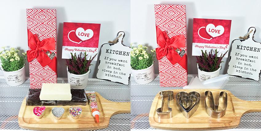 """cách làm socola handmade cách làm socola handmade Hướng dẫn làm socola handmade chữ """"I LOVE U"""" tỏ tình Valentine th  nh y  u 4"""
