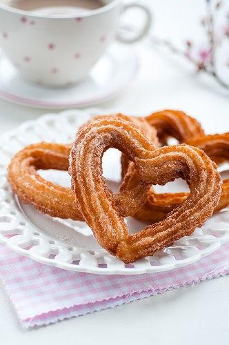 cách làm churros trái tim 4 cách làm churros trái tim Làm churros trái tim tỏ tình theo phong cách Tây Ban Nha to tinh nhu nguoi tay ban nha voi cach lam churros trai tim 4