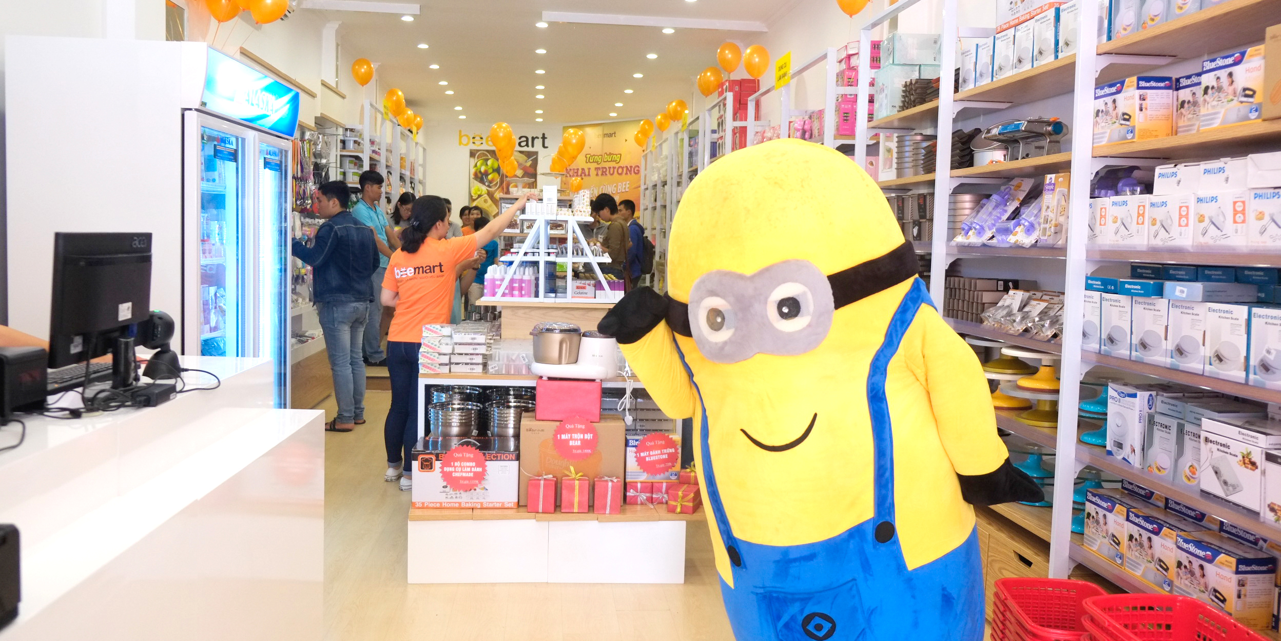 minion beemart Beemart ra mắt cửa hàng thứ 4, chính thức Nam tiến sau 2 năm thành lập anh 12