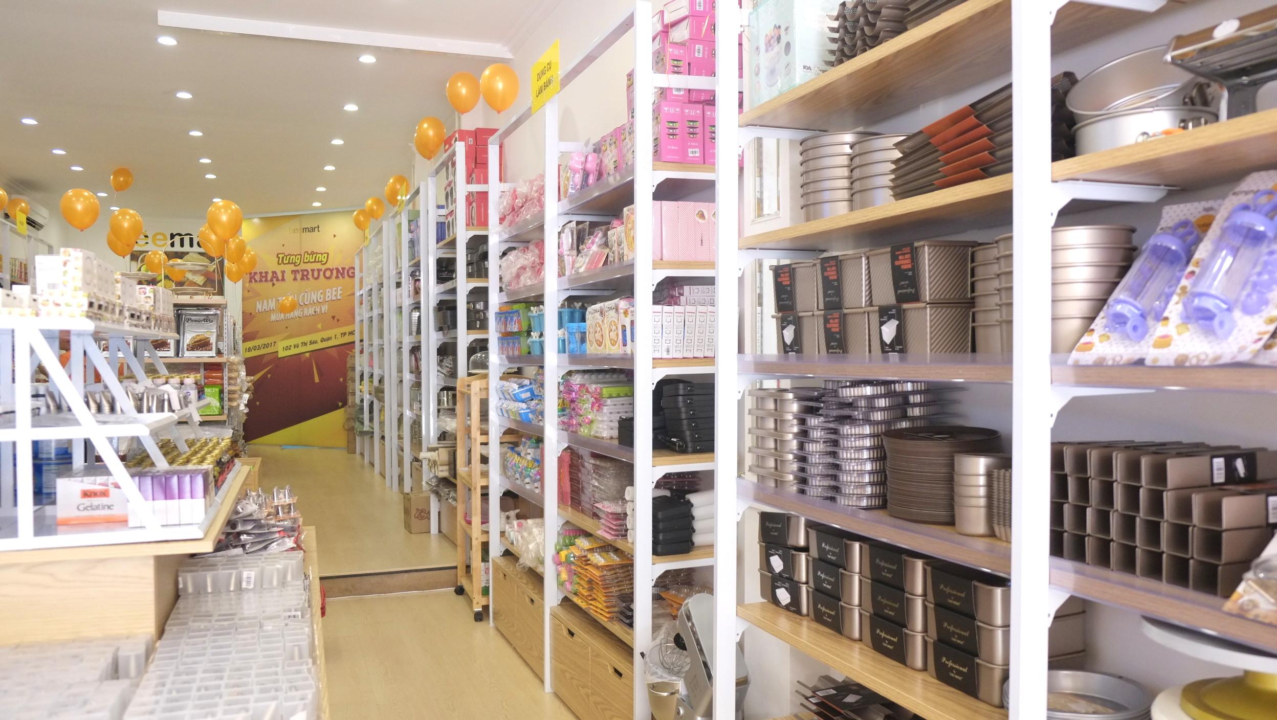 siêu thị đồ làm bánh tại tp. hcm  Beemart ra mắt cửa hàng thứ 4, chính thức Nam tiến sau 2 năm thành lập anh 23