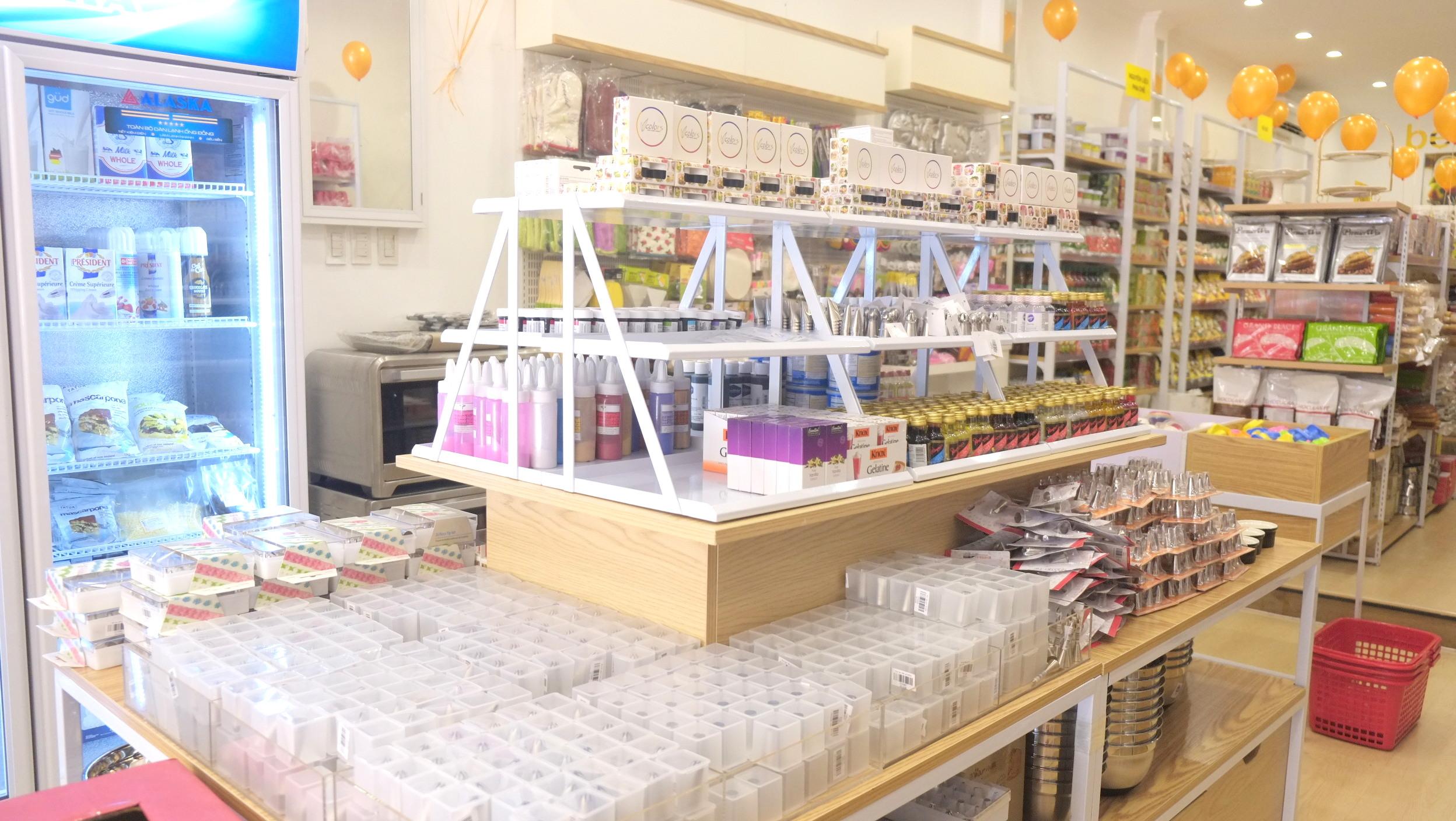 cửa hàng đồ làm bánh tại tp.hcm  Beemart ra mắt cửa hàng thứ 4, chính thức Nam tiến sau 2 năm thành lập anh 25