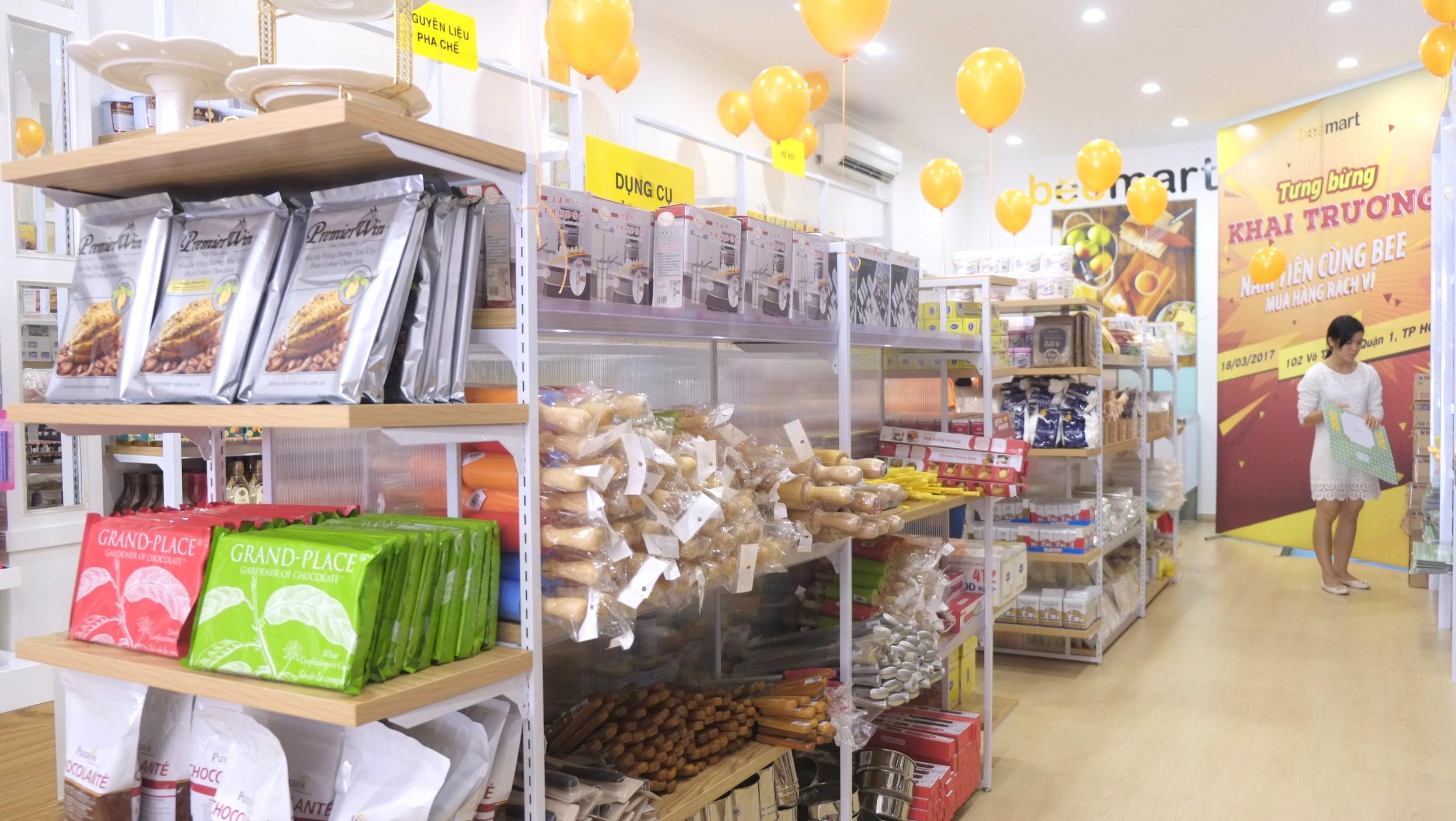 siêu thị đồ làm bánh tại tp. hcm  Beemart ra mắt cửa hàng thứ 4, chính thức Nam tiến sau 2 năm thành lập anh 26