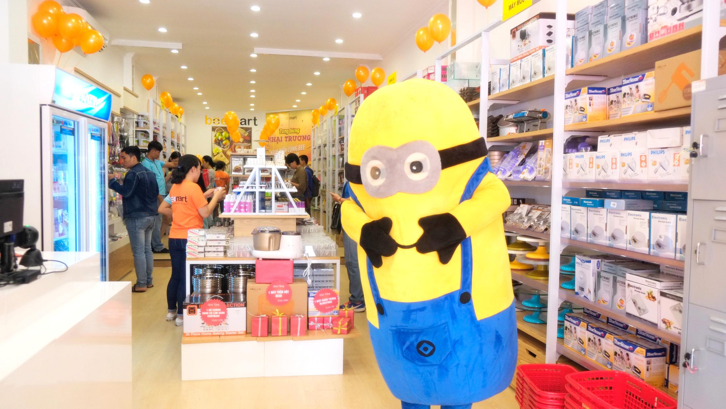 khai trương của hàng đồ làm bánh tại tp.hcm  Beemart ra mắt cửa hàng thứ 4, chính thức Nam tiến sau 2 năm thành lập anh 5