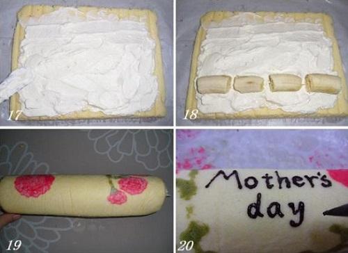 cách làm bánh bông lan cuộn hoa cẩm chướng 5 cách làm bánh bông lan cuộn hoa cẩm chướng Cách làm bánh bông lan cuộn hoa cẩm chướng cho ngày của mẹ cach lam banh bong lan cuon hoa cam chuong cho ngay cua me 5