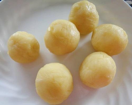 cách làm bánh bột nếp nước cốt dừa 3