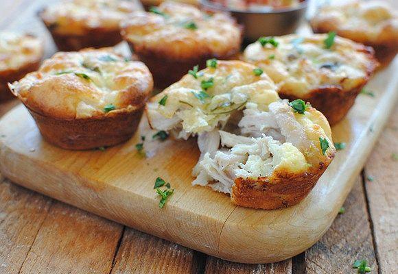 Cách làm bánh gà phomai nướng cực dinh dưỡng thơm ngon
