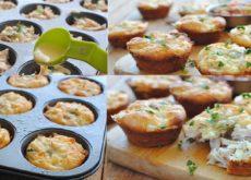 cách làm bánh gà phomai nướng 9