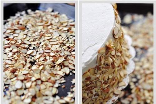cách làm bánh gato dâu tây 12