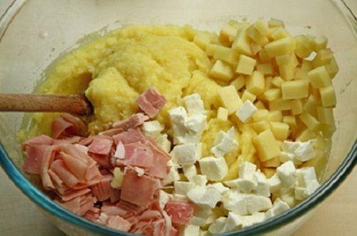 cách làm bánh gato khoai tây 6 cách làm bánh gato khoai tây Bánh gato khoai tây nhân phomai thịt nguội cực lạ cực ngon tại nhà cach lam banh gato khoai tay cuc la cuc ngon tai nha 6