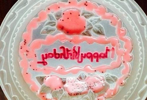 cách làm bánh sinh nhật bằng thạch rau câu 3D 6