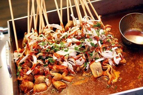 Cách làm bánh chả cá xiên Hàn Quốc cực ngon cả nhà thích mê