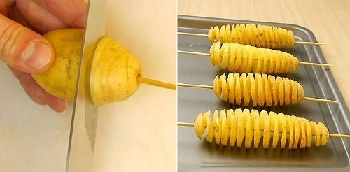 Cách làm khoai tây lốc xoắn 3 cách làm khoai tây lốc xoắn Khoai tây lốc xoắn giòn tan siêu ngon siêu hấp dẫn cach lam khoai tay loc xoan sieu ngon sieu gion tan 4