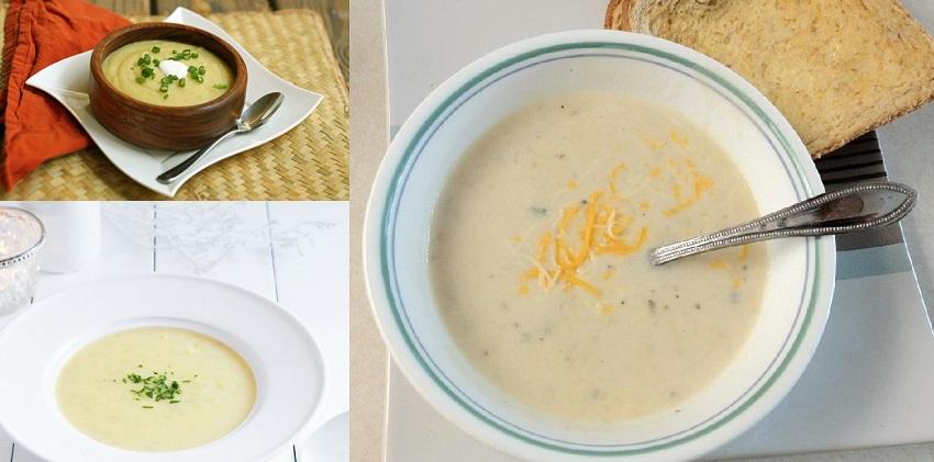 cách làm súp kem khoai tây 7 cách làm súp kem khoai tây Súp kem khoai tây thơm ngon- món tráng miệng siêu dinh dưỡng cach lam sup kem khoai tay cho bua sang dinh duong 8