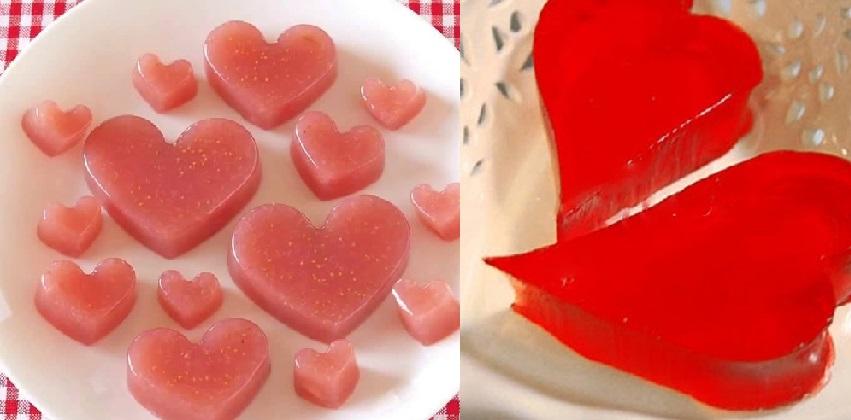cách làm kẹo dâu dẻo 11 cách làm kẹo dẻo Cách làm kẹo dẻo trái tim hồng trong vòng 3 nốt nhạc huong dan lam keo dau deo cho valentine trang ngot ngao 12