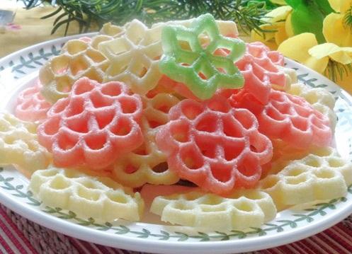 cách làm bánh nhúng đa sắc màu 3 cách làm bánh nhúng đa sắc màu Cách làm bánh nhúng đa sắc màu cực đơn giản cach lam banh nhung da sac mau cuc hap dan ngay tai nha 8