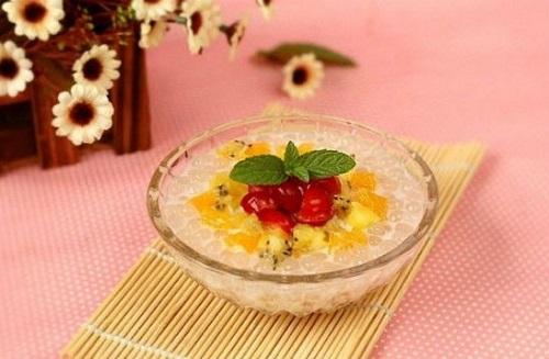 cách làm chè trân châu hoa quả 2 cách làm chè trân châu hoa quả Chè trân châu hoa quả lạ mà ngon chào hè cach lam che tran chau hoa qua 2