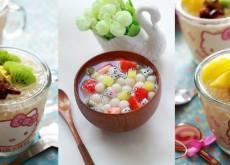 cách làm chè trân châu hoa quả 5