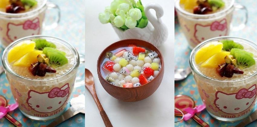 cách làm chè trân châu hoa quả 5 cách làm chè trân châu hoa quả Chè trân châu hoa quả lạ mà ngon chào hè cach lam che tran chau hoa qua 5