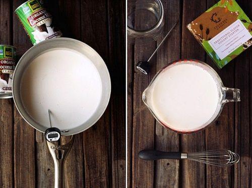 cách làm sữa chua sữa dừa 2 cách làm sữa chua sữa dừa Cách làm sữa chua sữa dừa lạ mà ngon chào mùa hè mới cach lam sua chua sua dua la ma ngon chao mua he moi 2