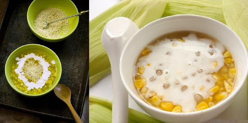 Cách nấu chè bắp bằng nồi cơm điện siêu nhanh mà vẫn đảm bảo hương vị