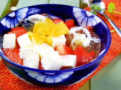 Các món chè dễ làm 16 các món chè ngon dễ làm Thanh mát với các món chè ngon dễ làm nhất mùa hè cac mon che de lam 7