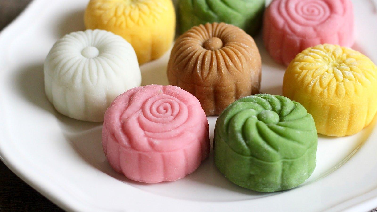 cách làm bánh dẻo lạnh singapore bánh dẻo lạnh Cách làm bánh dẻo lạnh kiểu Singapore hút mắt cach lam banh deo lanh singapore