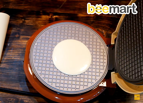 Cách làm bánh ốc quế ăn kèm giòn thơm như ngoài hàng-7