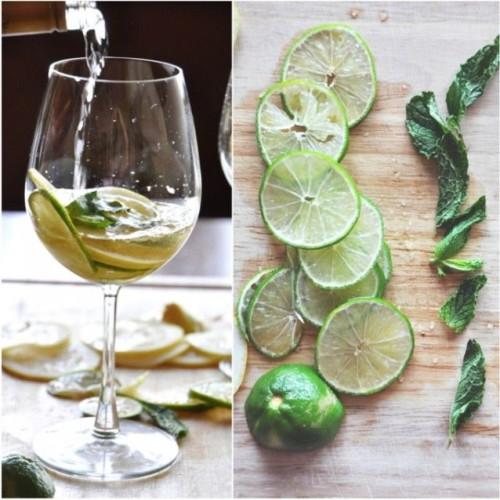 cách làm cocktail Sangria từ chanh và bạc hà 3 cách làm cocktail sangria từ chanh và bạc hà Cocktail Sangria chanh bạc hà đơn giản đậm đà hương vị Tây Ban Nha cach lam cocktail sangria tu chanh va bac ha cuc ngon 4 e1496246162969