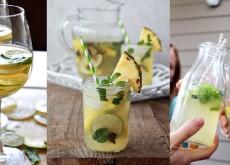 cách làm cocktail Sangria từ chanh và bạc hà 7