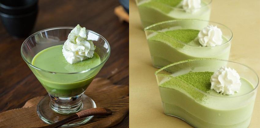 cách làm thạch pudding trà xanh cách làm thạch pudding Cách làm thạch pudding trà xanh thanh mát cho ngày hè cach lam thach pudding tra xanh 2