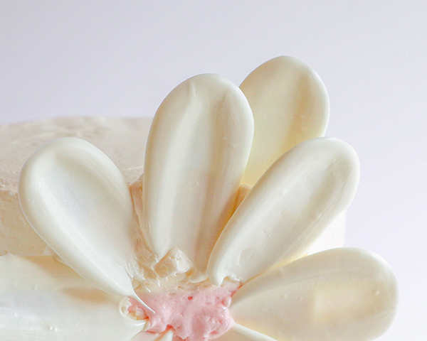 Cách làm hoa chocolate vô cùng đơn giản trang trí bánh kem-8