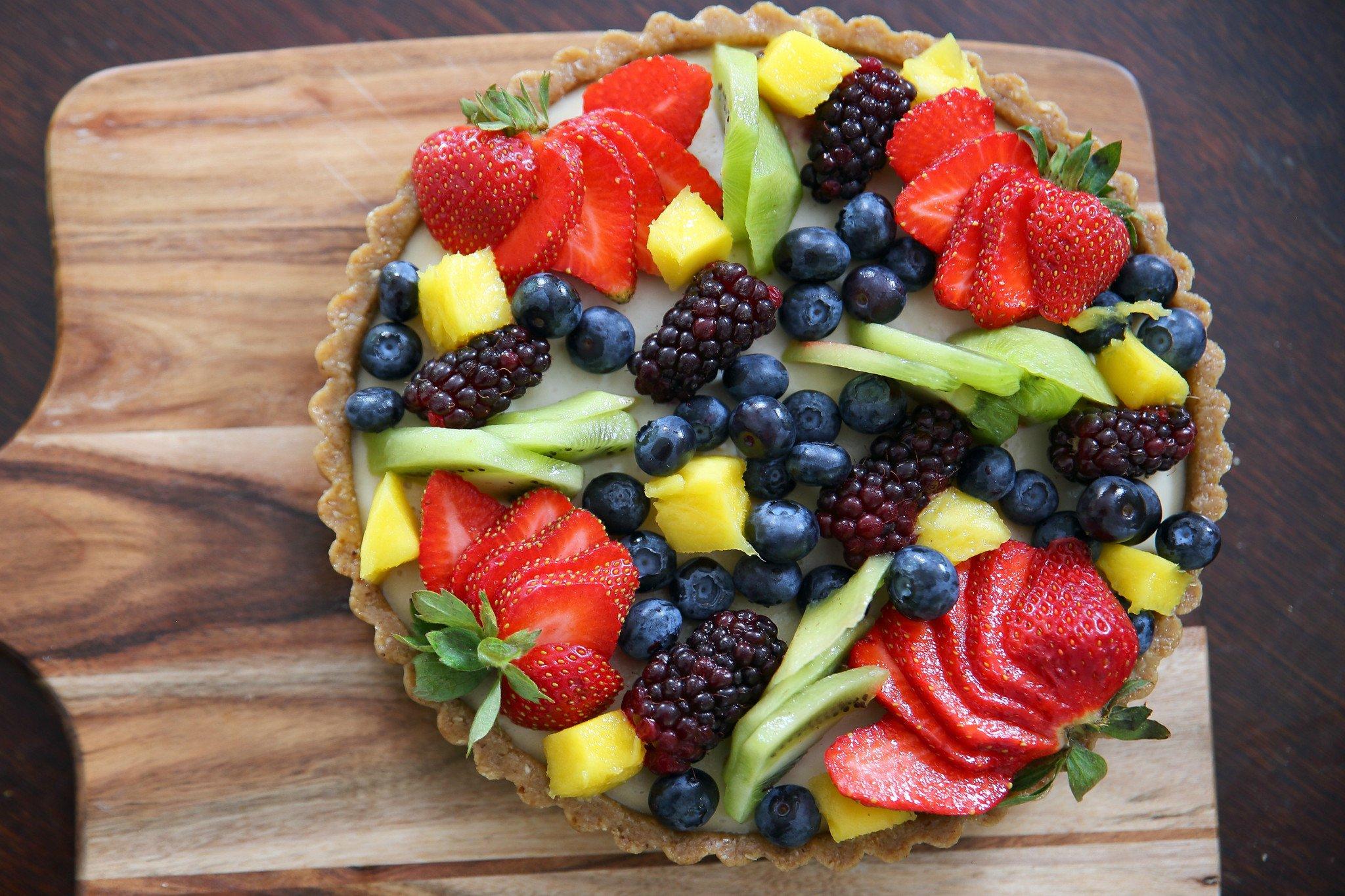 Cách làm tart hoa quả vừa đẹp vừa ngon bé nào cũng mê