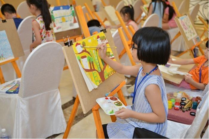 """chương trình vui chơi cho bé cùng bé ước mơ chương trình vui chơi cho bé Cả nhà cùng vui với Ngày hội gia đình: """"CÙNG BÉ ƯỚC MƠ"""" cung be uoc mo 1"""
