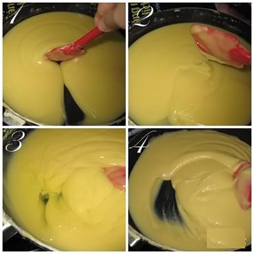 Cách làm bánh trung thu nhân đậu xanh-2 cách làm bánh trung thu Cách làm bánh Trung thu nhân đậu xanh cach lam banh deo lanh kieu singapore 9