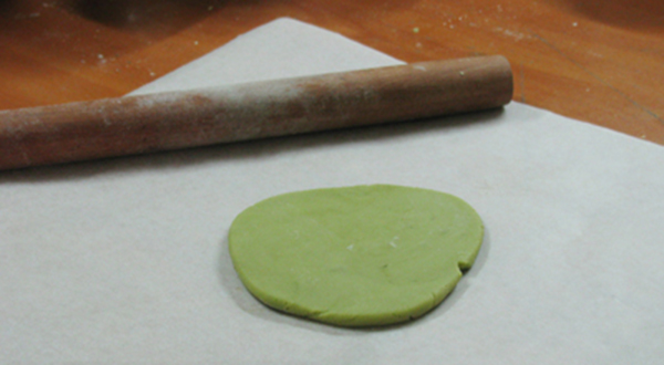 cách làm bánh nướng Trung thu trà xanh