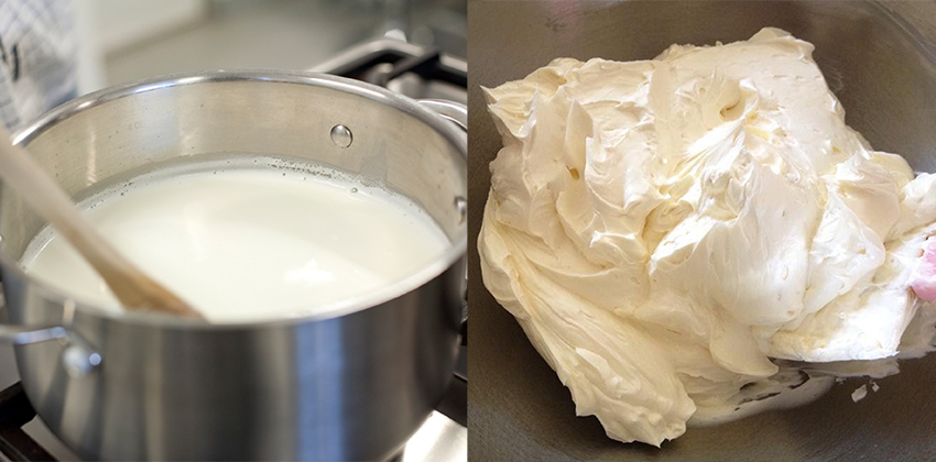 Hai cách làm kem phủ bánh không cần kem tươi-9