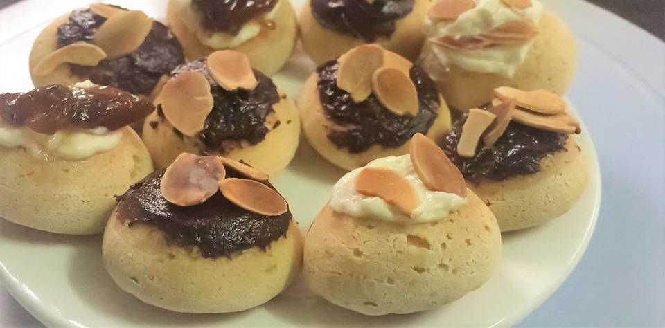 Cách làm bánh su kem chewy junior thơm ngon, giòn rụm