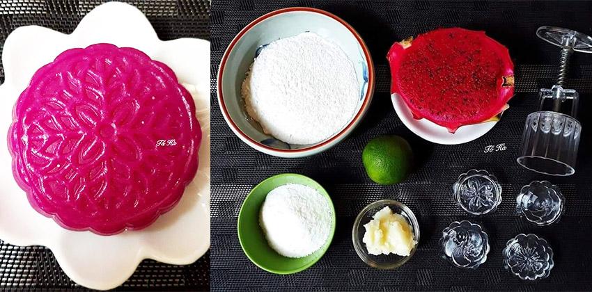 bánh trung thu thanh long 66 cách làm bánh trung thu Cách làm bánh Trung thu bằng bột rau câu đẹp và ngon nhất banh trung thu thanh long 66