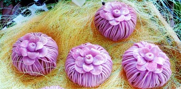 Cách làm bánh nướng Trung thu hoa mai tím từ lá nếp cẩm độc đáo-85 cách làm bánh nướng trung thu hoa mai Cách làm bánh nướng Trung thu hoa mai tím từ lá nếp cẩm độc đáo cach lam banh nuong trung thu hoa mai tim tu la nep cam doc dao2