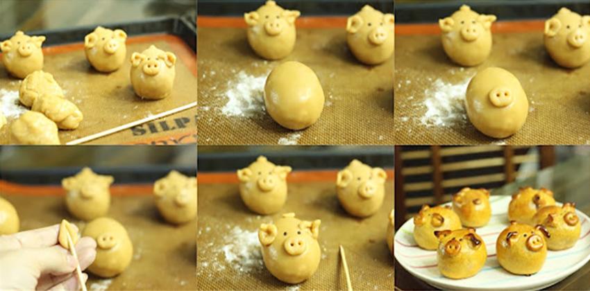 Cùng con vào bếp học cách làm bánh trung thu hình con thú ngộ nghĩnh-16 cách làm bánh trung thu hình con thú Cùng con vào bếp học cách làm bánh Trung thu hình con thú ngộ nghĩnh cung con vao bep hoc cach lam banh trung thu hinh thu con ngo nghinh 11