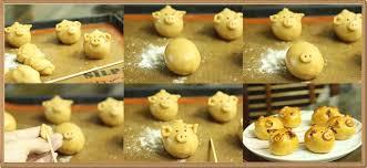 Cùng con vào bếp học cách làm bánh nướng trung thu hình con thú ngộ nghĩnh-11 cách làm bánh nướng Cách làm bánh Nướng nhân thập cẩm gà quay trứng muối ngon đủ vị cung con vao bep hoc cach lam banh trung thu hinh thu con ngo nghinh 5
