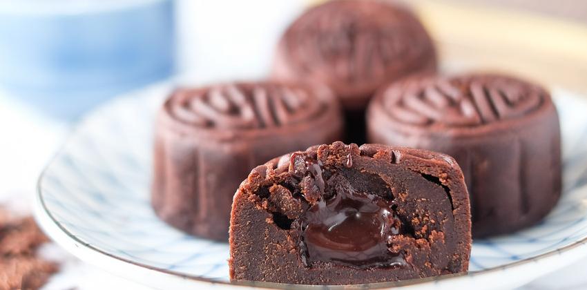 Cùng con vào bếp học cách làm bánh trung thu hình con thú ngộ nghĩnh-12 cách làm bánh nướng trung thu lava chocolate Cách làm bánh nướng Trung thu lava chocolate đơn giản đến không ngờ lava chocolate mooncake