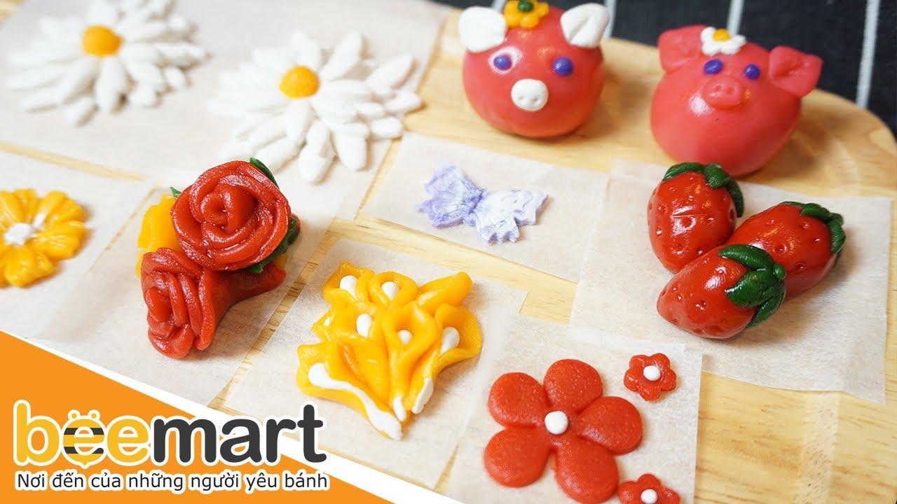 Cách làm bánh Trung thu hoa nổi đẹp mê mẩn-2