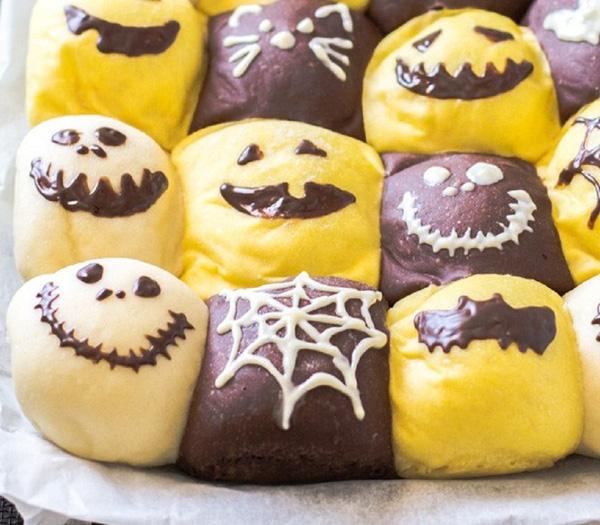 """Gợi ý thực đơn Halloween hấp dẫn-53 thực đơn halloween Thực đơn Halloween """"rùng rợn"""" đố bạn dám ăn goi y thuc don Halloween hap dan 12"""