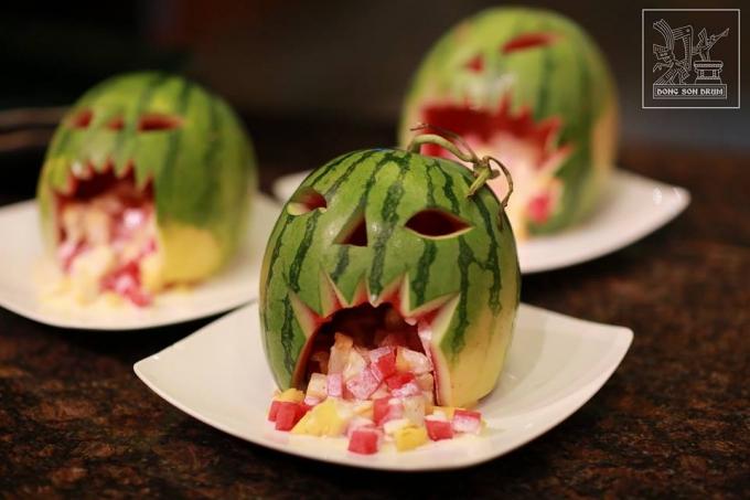 """Gợi ý thực đơn Halloween hấp dẫn-789 thực đơn halloween Thực đơn Halloween """"rùng rợn"""" đố bạn dám ăn goi y thuc don Halloween hap dan 5"""