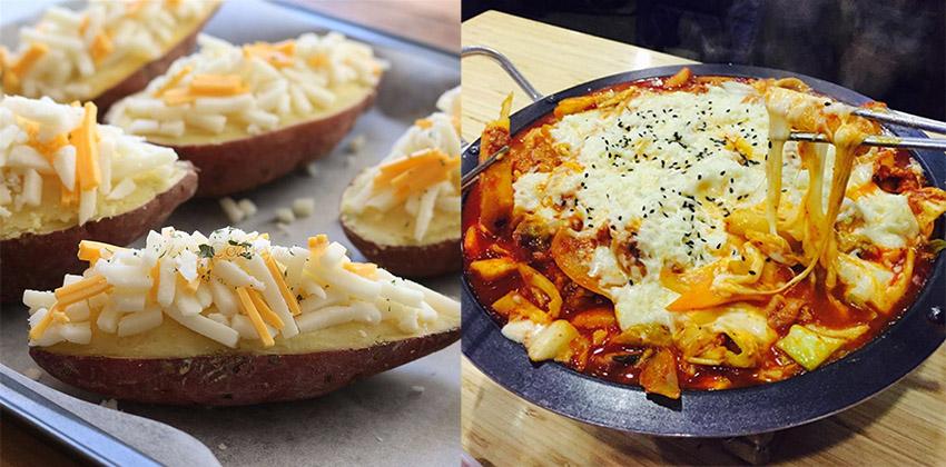 Cách làm bánh phô mai cam không cần lò nướng  Các món ăn ngon làm từ phô mai bào sợi cac mon an ngon lam tu pho mai bao soi111