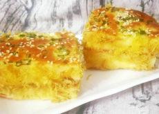 Cách làm bánh kem bắp kiểu Pháp-1 cách làm bánh mì chà bông sốt bơ Phát cuồng với cách làm bánh mì chà bông sốt bơ thơm ngon khó cưỡng cach lam banh mi cha bong sot bo 7 1 230x165