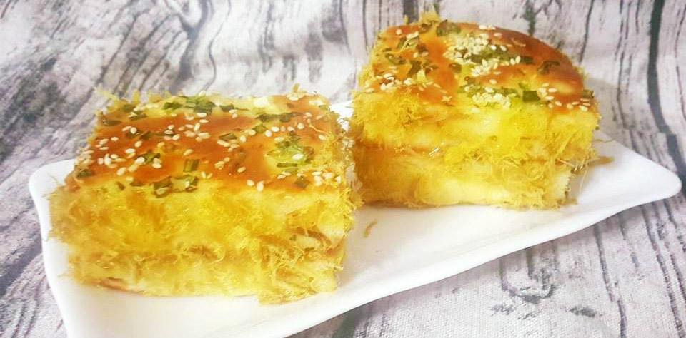 Cách làm bánh kem bắp kiểu Pháp-1 cách làm bánh mì chà bông sốt bơ Phát cuồng với cách làm bánh mì chà bông sốt bơ thơm ngon khó cưỡng cach lam banh mi cha bong sot bo 7 1
