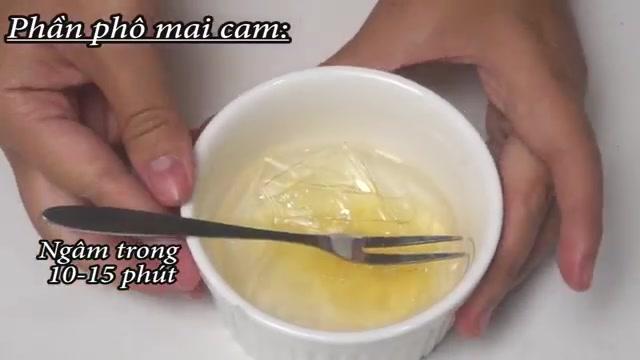 Cách làm bánh phô mai cam không cần lò nướng-2  Cách làm bánh phô mai cam không cần lò nướng cach lam banh pho mai cam khong can lo nuong 5